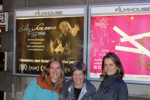 The Groove film team at Edinburgh International Film Festival
